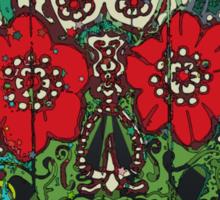 Day of dead sugar art skull graffiti gifts Sticker