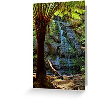 """Henderson Falls"" Greeting Card"