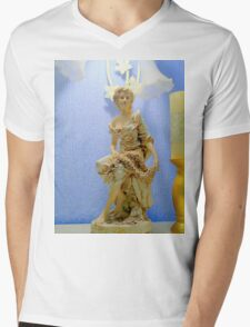 Art Nouveau Statue Mens V-Neck T-Shirt