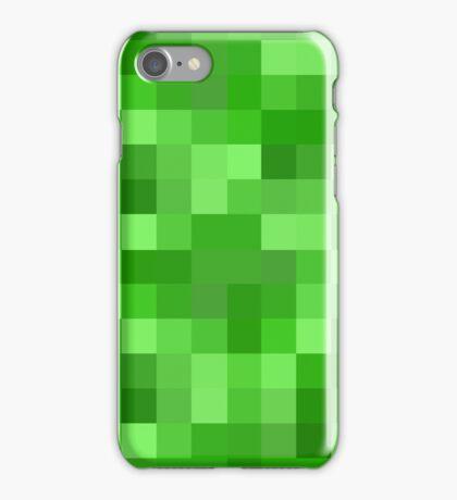 Minecraft Creeper replica iPhone Case/Skin