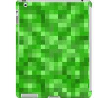 Minecraft Creeper replica iPad Case/Skin