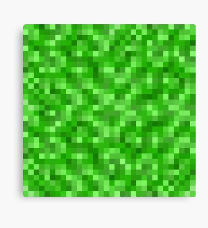 Minecraft Creeper replica Canvas Print