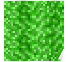 Minecraft Creeper replica Poster
