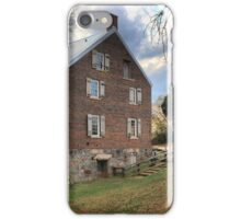 Kerr Grist Mill Panorama iPhone Case/Skin