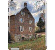 Kerr Grist Mill Panorama iPad Case/Skin