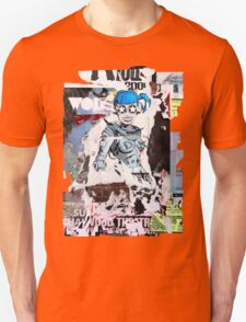 accidental art series robot girl 2 Unisex T-Shirt