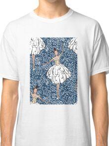 Swan Lake Snowstorm Classic T-Shirt