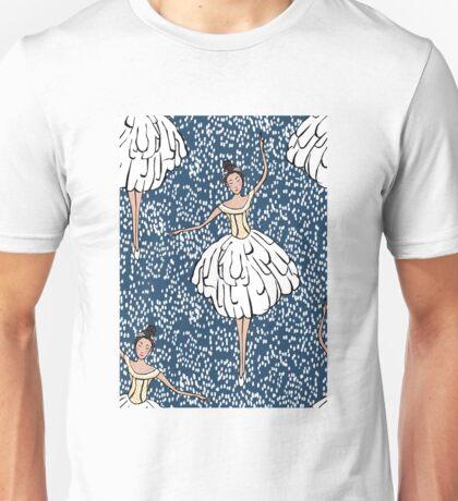 Swan Lake Snowstorm T-Shirt