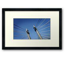 Penang Bridge, Malaysia Framed Print