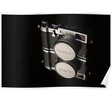Fujifilm x100t Camera Poster