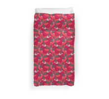 Purrrfect Pattern (Red) Duvet Cover