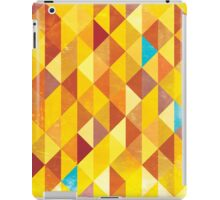 Mosaic 1485 - Red Orange Hipster Fire iPad Case/Skin