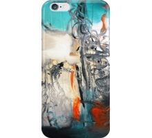 Abstract Blue Print - Reef  iPhone Case/Skin