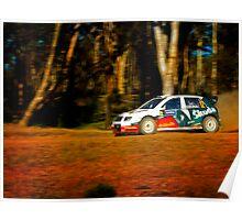Colin MacRae - World Rally Champion Poster