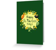 Happy St Patrick`s Day Greeting Card