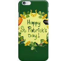 Happy St Patrick`s Day iPhone Case/Skin