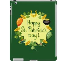 Happy St Patrick`s Day iPad Case/Skin