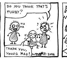 Nice sense of humour by Minna Nyqvist