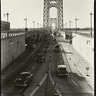 George Washington Bridge New York 1937 Photograph by T-ShirtsGifts