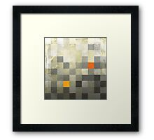 Mosaic 1489 - Gradient Contrast - Sparks a Flyin' Framed Print