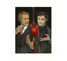 Hannibal and Will Art Print