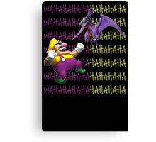 wario owning this circle eyed bitch Canvas Print