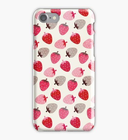Strawberry Fields iPhone Case/Skin