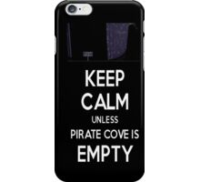 Five Nights at Freddy's: Keep Calm Unless Pirate Cove is Empty iPhone Case/Skin