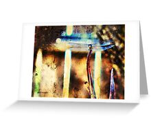 A Single Wish (Art & Poetry) Greeting Card