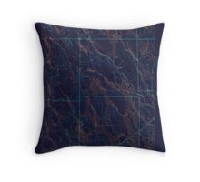 Maine USGS Historical Map Mattawamkeag Lake 306658 1943 62500 Inversion Throw Pillow