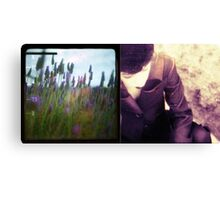 she had a certain lavender charm Canvas Print