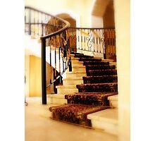 Stairway in Playa Del Carmen, Royal Hideaway Photographic Print