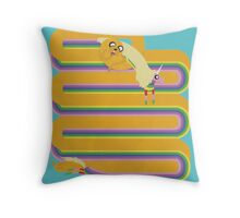 Love is Stretchy Throw Pillow