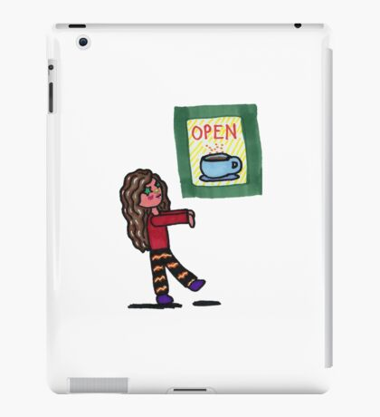 Chibi Coffee Zombie iPad Case/Skin