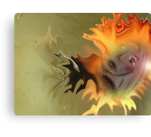 The fire within let out Canvas Print