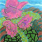 231 - FLORAL DESIGN - 03 - DAVE EDWARDS - COLOURED PENCILS - 2008 by BLYTHART