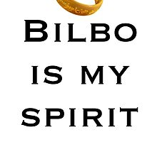 Bilbo is my spirit animal by Rivers Turow