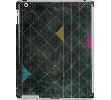 Mosaic 1497 - Dark Hipster Triangles iPad Case/Skin