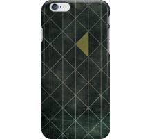Mosaic 1497 - Dark Hipster Triangles iPhone Case/Skin