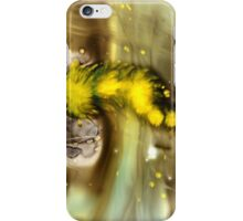 Gold Black Abstract Art iPhone Case/Skin