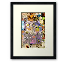 The Childs Nightmare. Framed Print