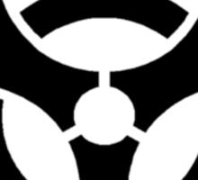 BIOHAZARD Sign warning symbol Sticker