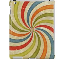 Psychedelic Retro Spiral iPad Case/Skin