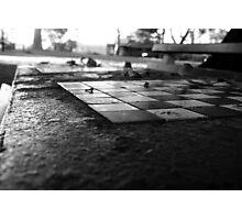 Chess Set 2 Photographic Print