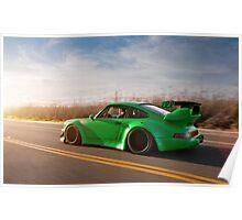 RWB Porsche Poster