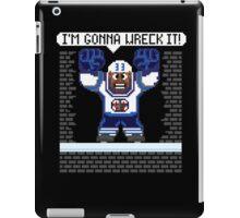 Wreck It Buff iPad Case/Skin