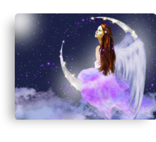 Moonlight Angel Canvas Print