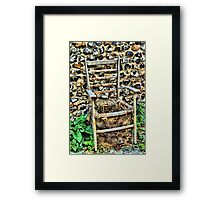 The Chair Framed Print
