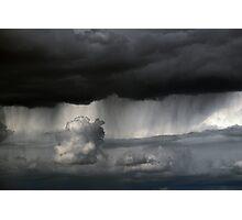 desert rain Photographic Print