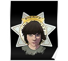 Sheriff Coral Poster